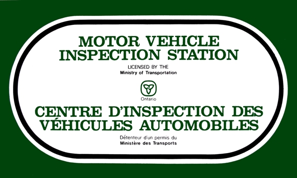 MTO Vehicle Safety Inspection